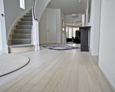 Sàn gỗ tự nhiên sồi trắng có gam màu đẹp