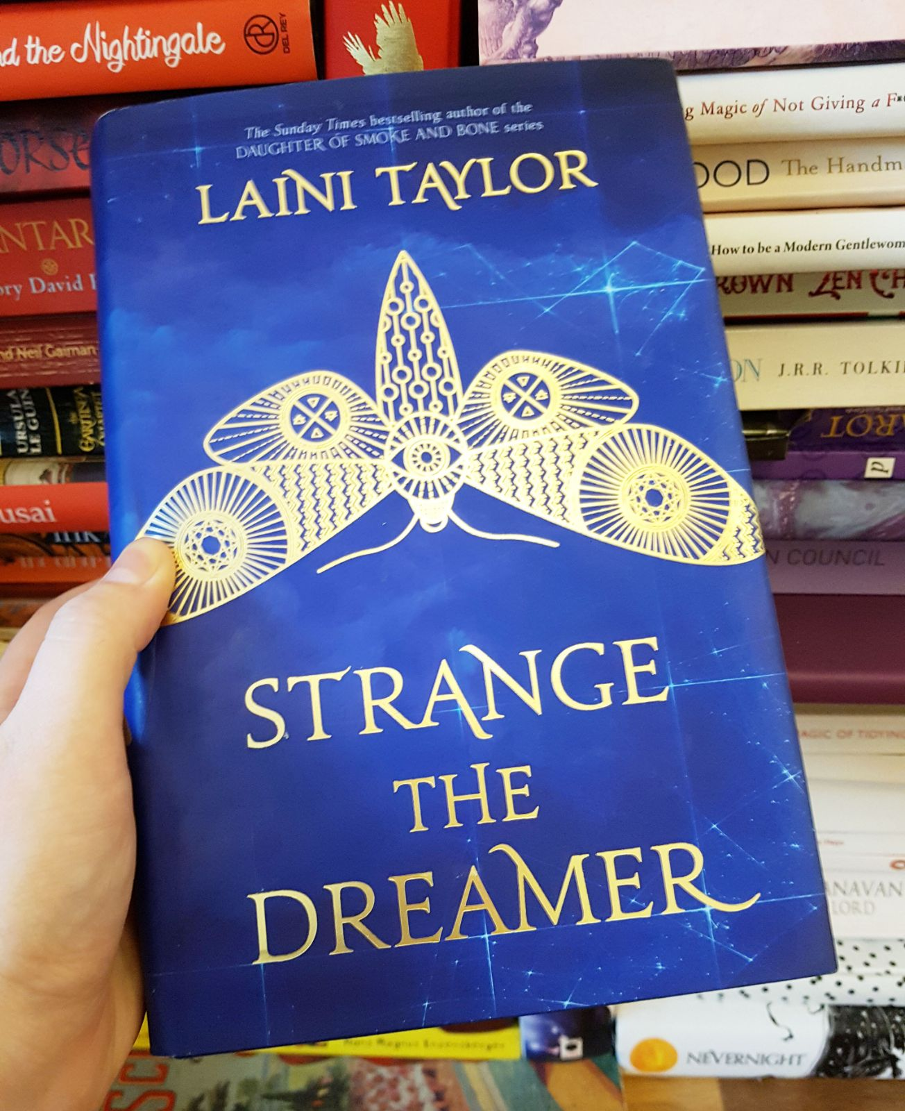 Strange the Dreamer Laini Taylor mini-review