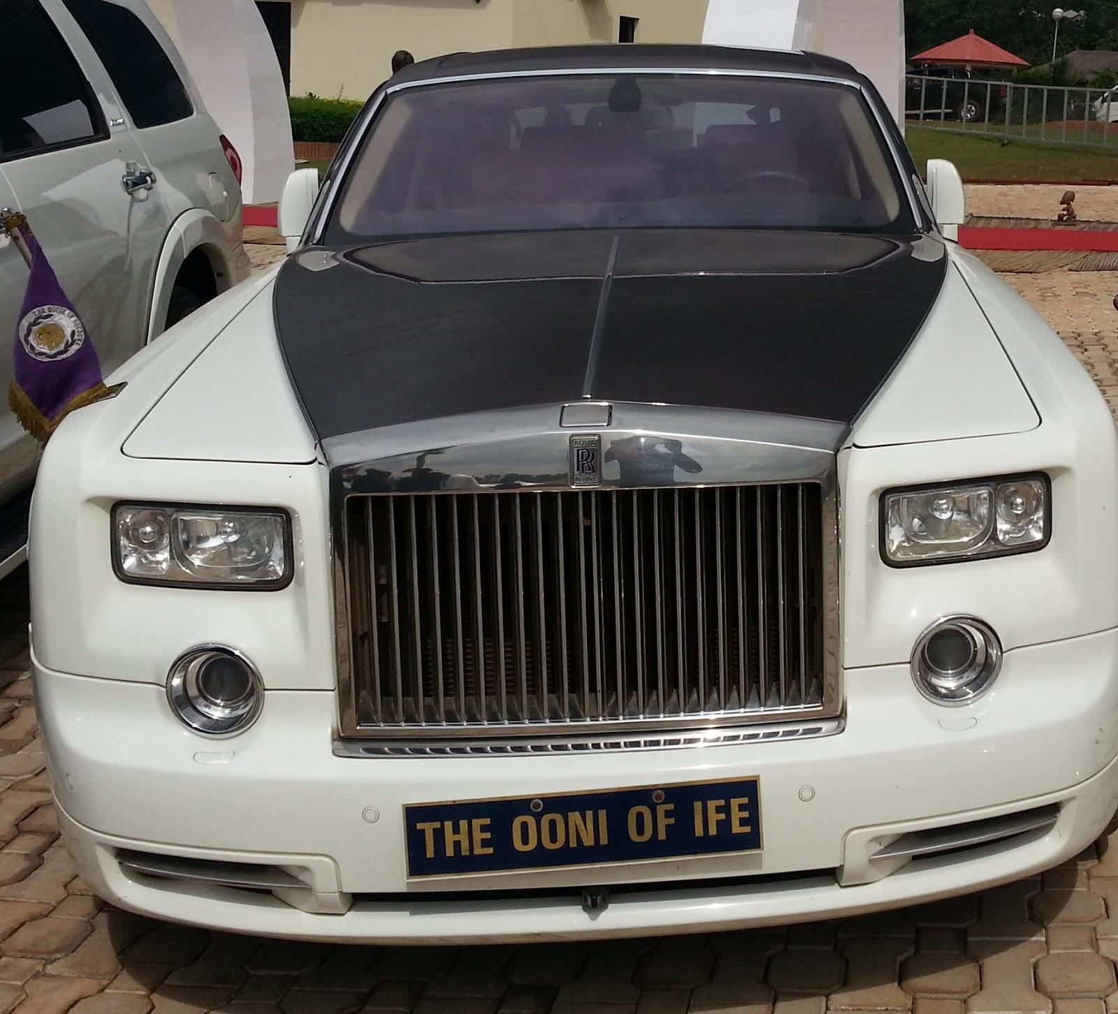ooni ife rolls royce car