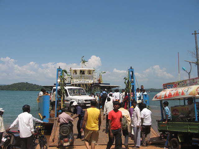 Ferry near Sigandur