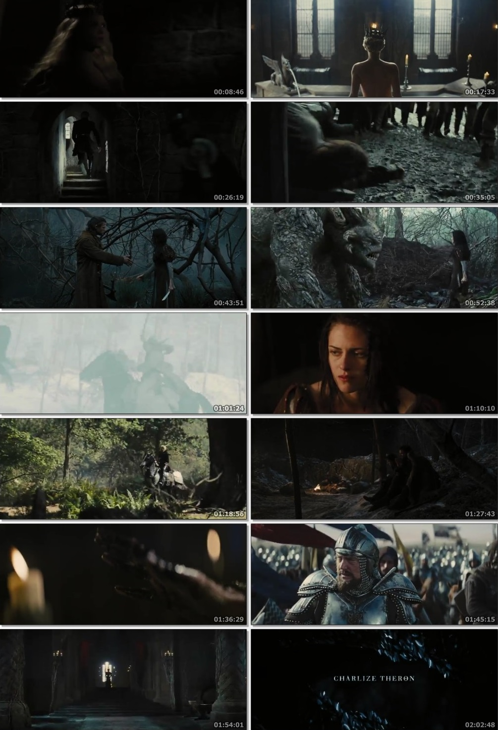 Screen Shot Of Snow White and the Huntsman 2012 300MB Full Movie Hindi Dubbed Free Download 480P BRRip Small Size PC Movie