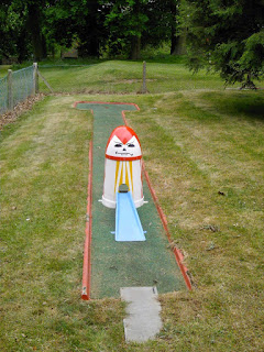 Photo of the Crazy Golf course in Wardown Park, Luton