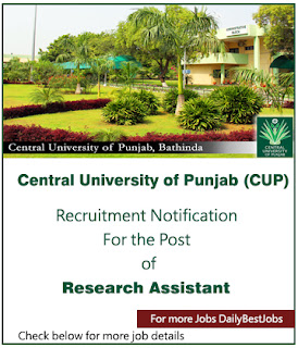 Central University Punjab job
