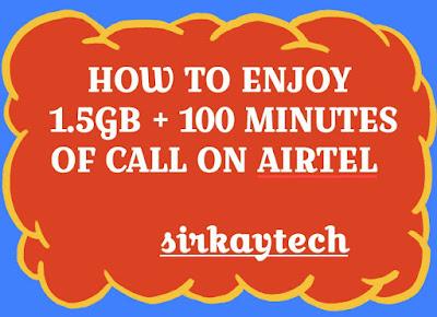 AIRTEL+1.5GB+100+MINUTES+CALL