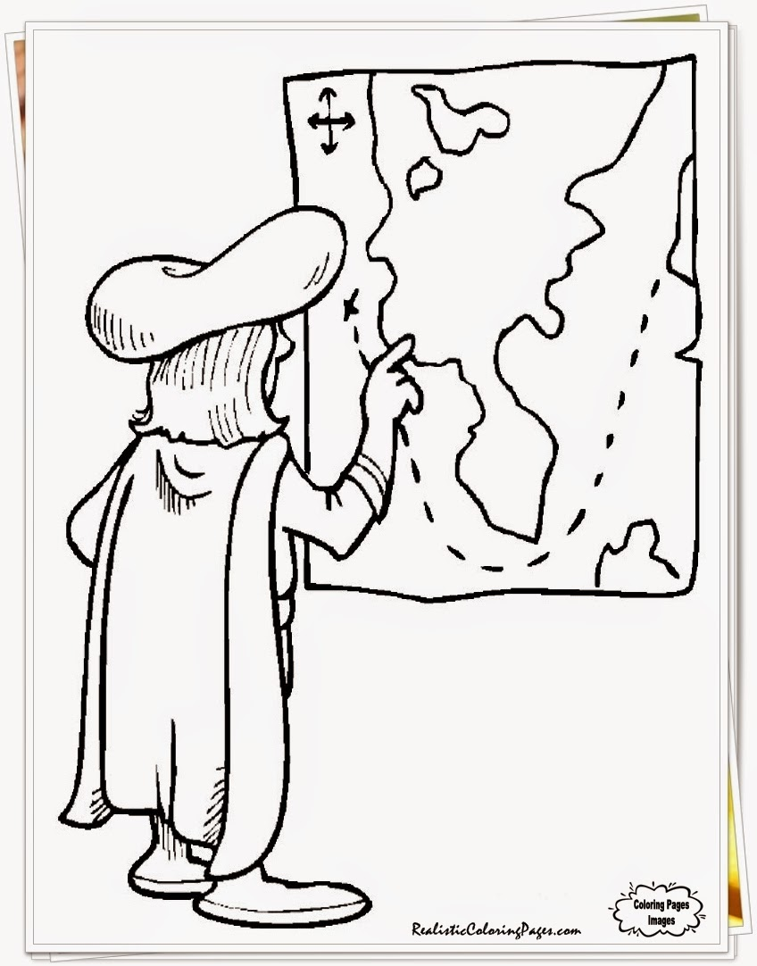columbus day ships coloring pages printable