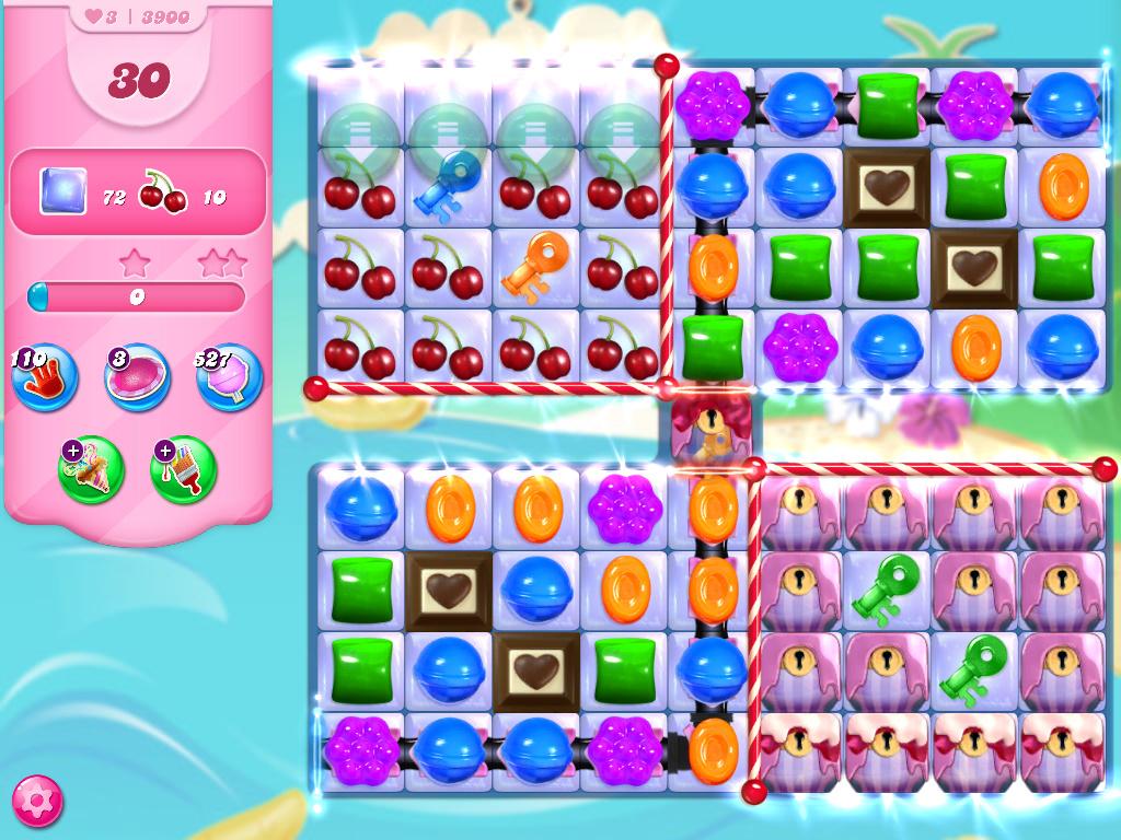 Candy Crush Saga level 3900