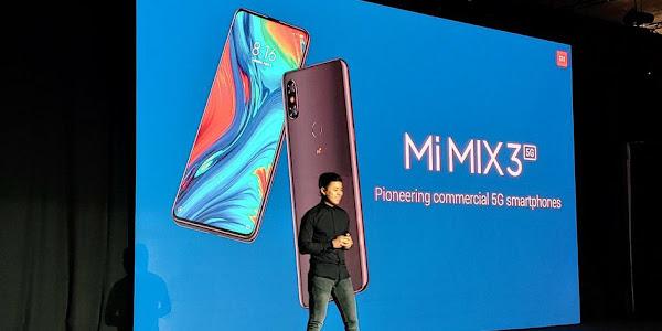 Xiaomi announces Mi Mix 3 5G