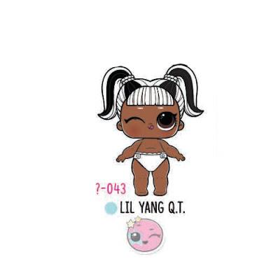 Беби игрушка ЛОЛ Lil YANG Q.T.