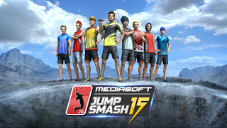 Jump Smash 15 Badminton Apk+Data Terbaru