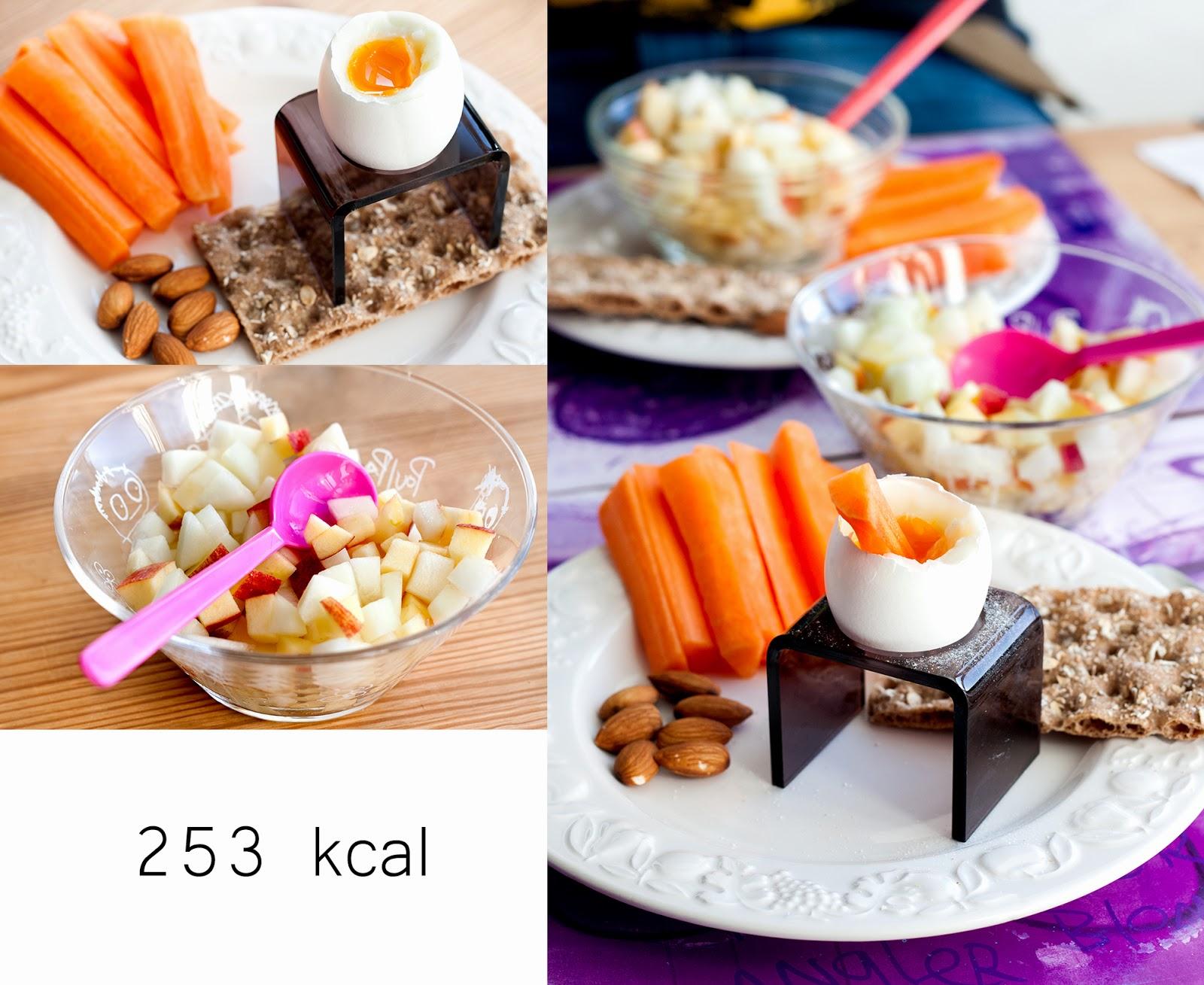 morgenmad med få kalorier