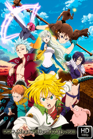 The Seven Deadly Sins Temporada 2 [1080p] [Latino-Japones] [MEGA]