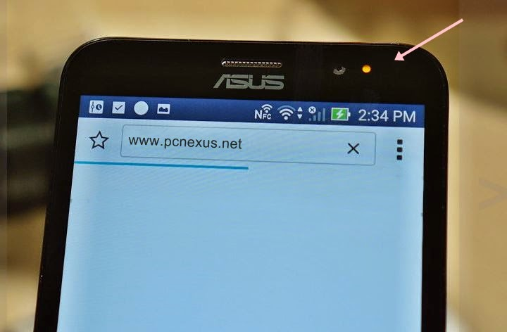 asus zenfone 2 notification light
