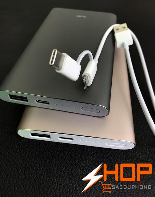 Pin Sạc Dự Phòng Xiaomi 10000 mAh Pro chính hãng