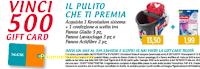 Logo Vileda ''Il pulito che ti premia'': vinci 500 card Tigotà da 25€