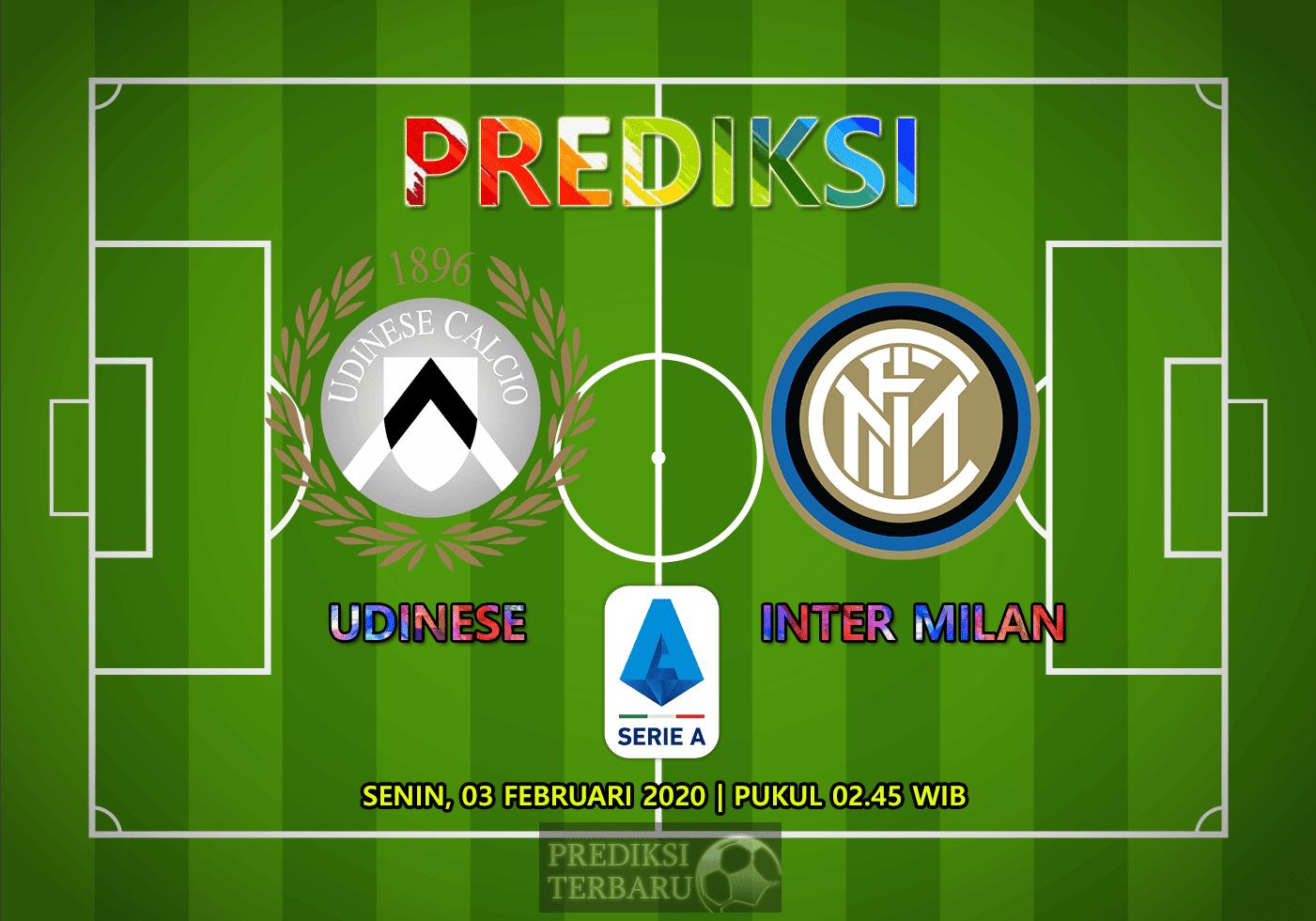 Prediksi Udinese Vs Inter Milan 03 Februari