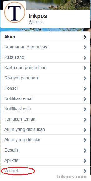 Cara Terbaru  Memasang Widget Follow dan Twitter di Blog