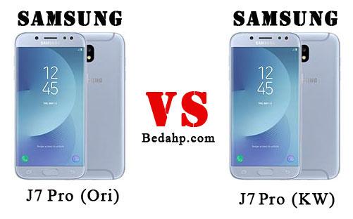 Cara Membedakan Samsung J7 Pro (2017) Asli dan Palsu
