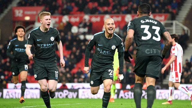 Kalahkan Stoke City, City Makin Kokoh Dipuncak - Berita Sport 99