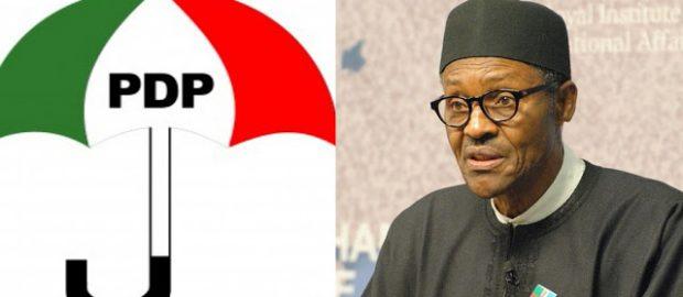 PDP To Buhari: Stop Punishing Nigerians, Unfreeze Benue, Akwa-Ibom Accounts Now.