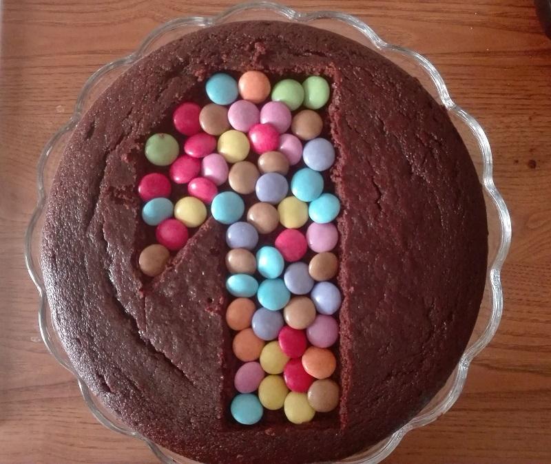 Torta semplice e veloce per festeggiare il primo compleanno
