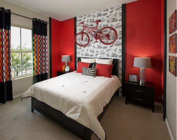 Black White And Red Bedroom Ideas 3 New Decoration