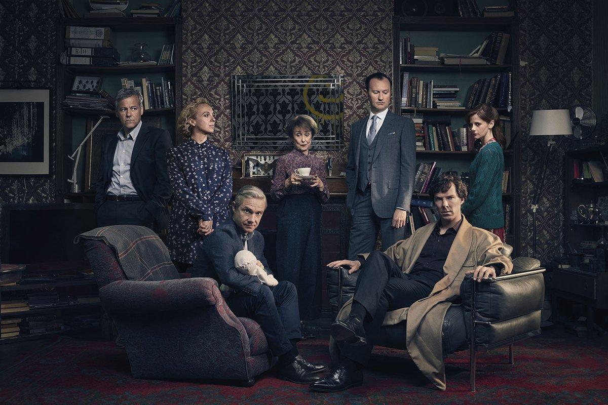 Sherlock - 4ª temporada - protagonistas serie