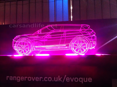 Car of the Day # 16 Range Rove Evoque Frame