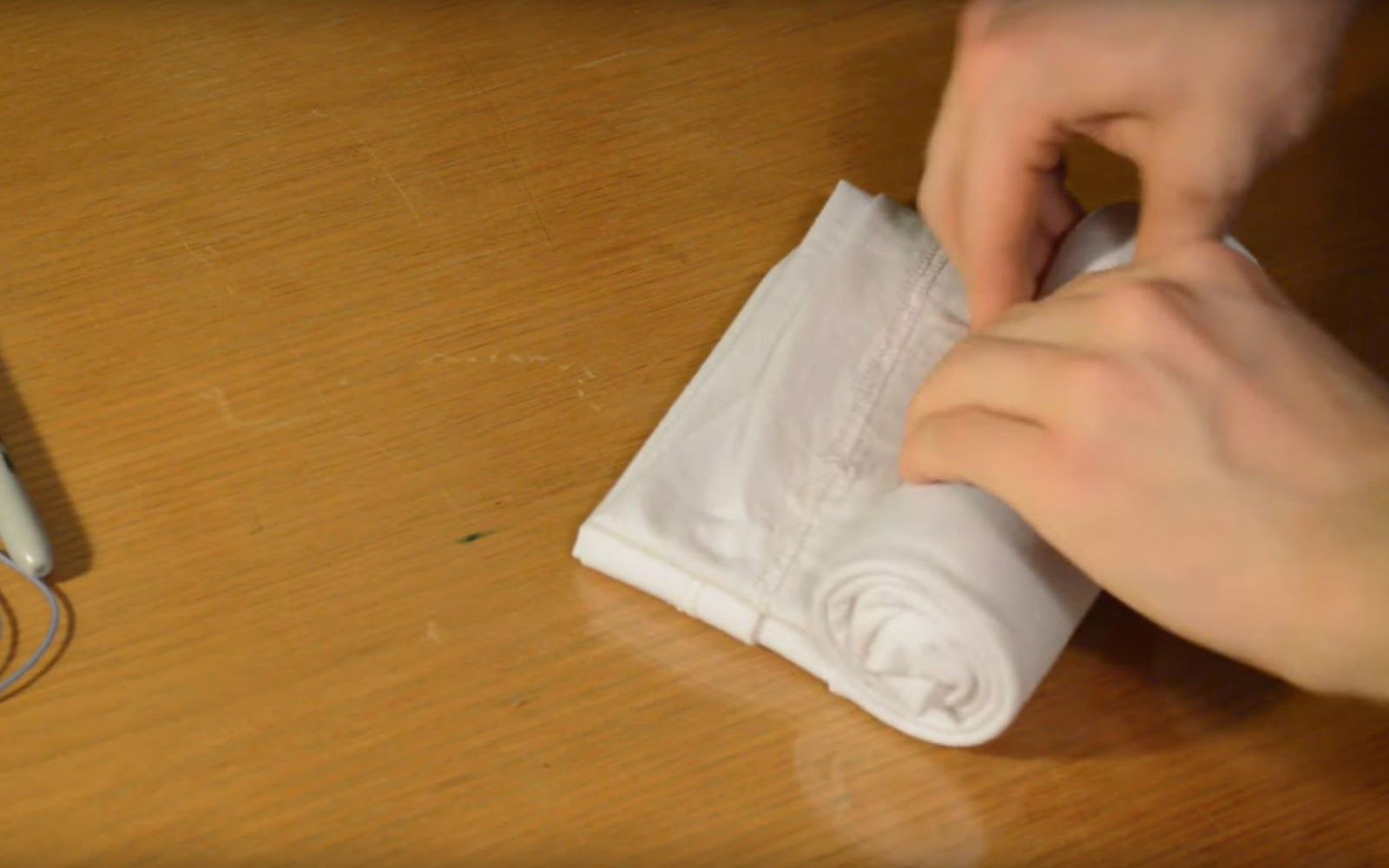 how to pack t-shirts without wrinkling them