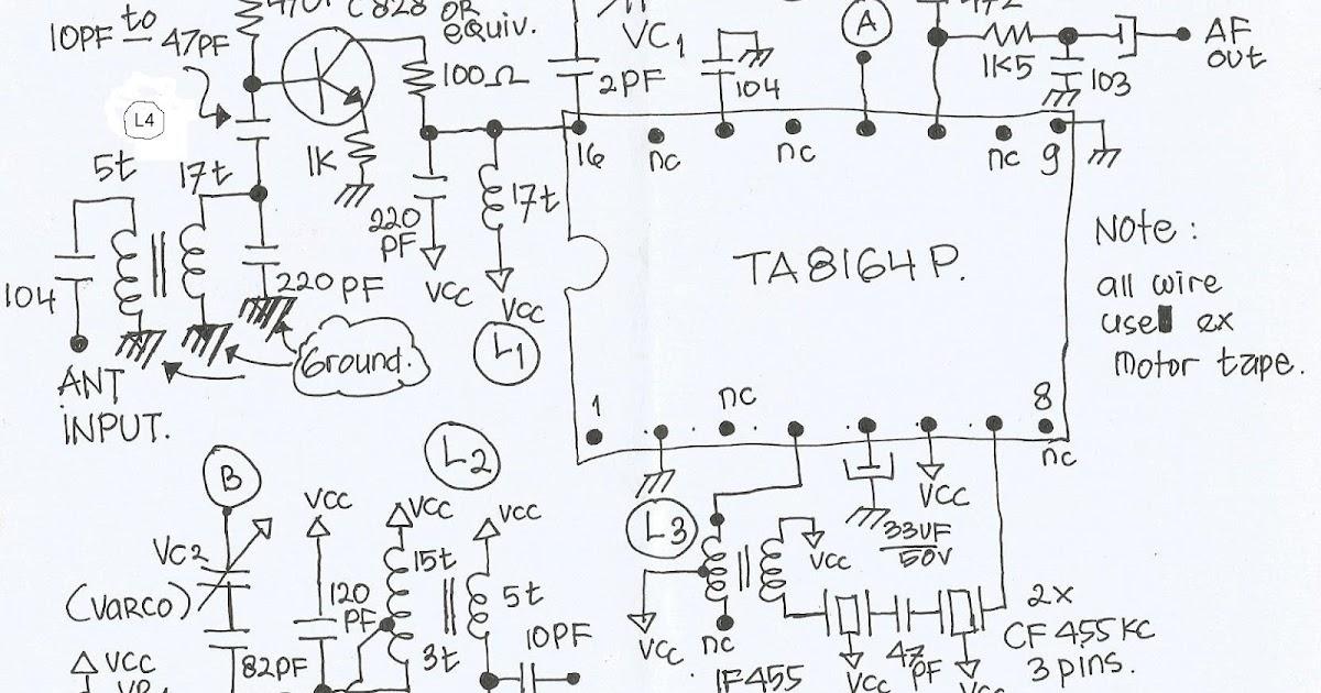 srundenggosong  am receiver 80 meter band using toshiba ta8164p