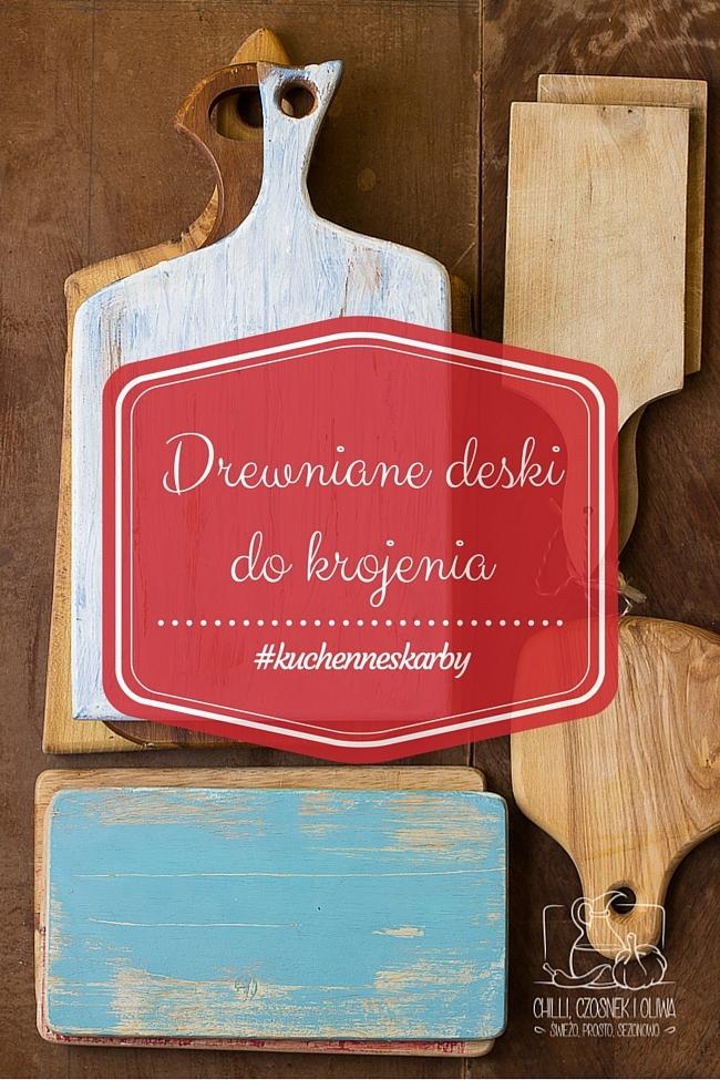 drewniane deski do krojenia, propsy do fotografii kulinarnej, stylizacja kulinarna