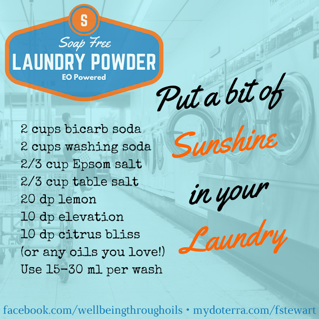Soap Free Laundry Detergent with Essential oils