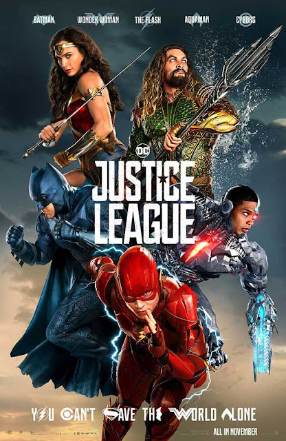 Poster Justice League 2017 Full Movie Download Dual Audio Hindi 720p