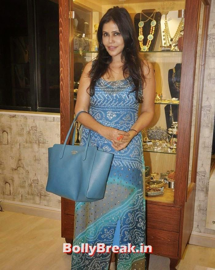 Nisha Jamwval, Pics from Bansri Mehta Jewellery Lounge Preview