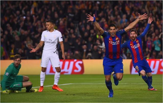 Ini Gol Kemenangan Barca Lumat PSG 6 : 1