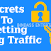 Secrets To Getting Blog Traffic To Complete Tasks Quickly And Efficiently