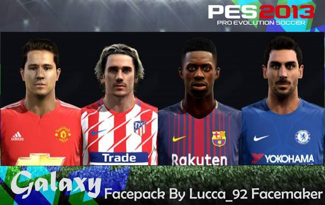 Galaxy Facepack PES 2013