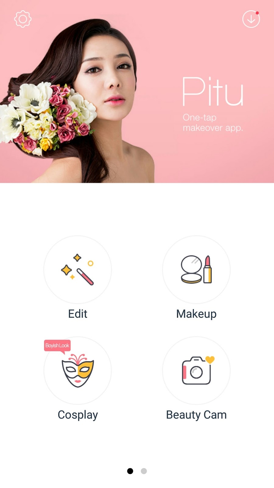 Pitu Makeover Editing app, selfie app, photo editing app, app review