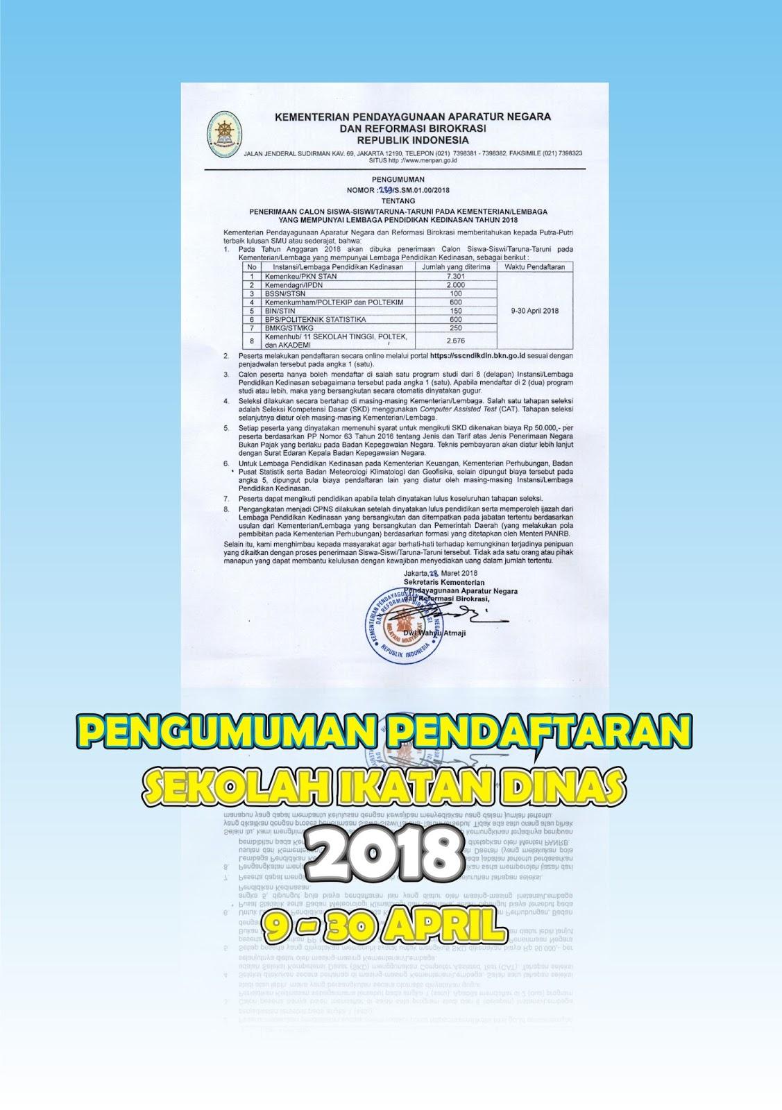 KemenPANRB Resmi Rilis Pengumuman Jadwal Pendaftaran