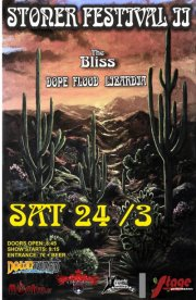 24 March: The Bliss, Dope Flood, Lizardia Live In Larissa