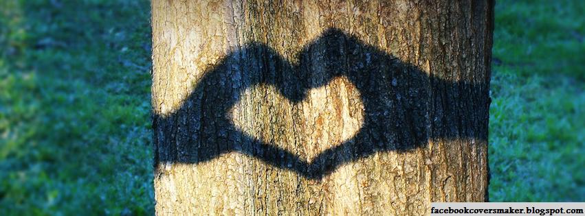قلبي جريح و صريح Tree-Shadow-Heart-Fa