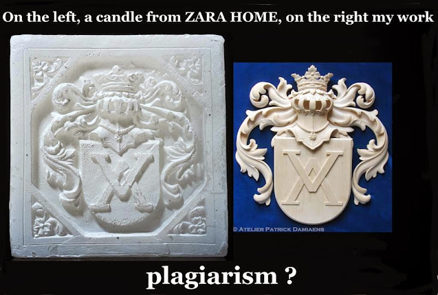 ZARA HOME commit plagiarism | Inditex | A Candle from Zara Home | A constatation in some branches of ZARA