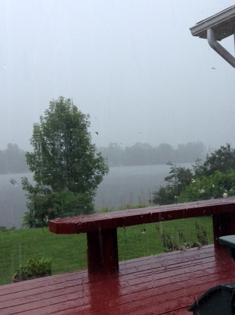 Friday's rainstorm