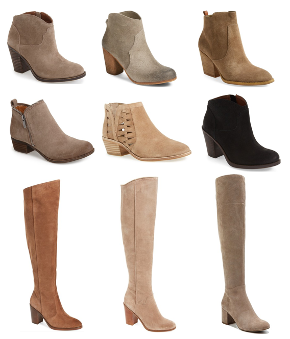 putting me together caring for suede boots