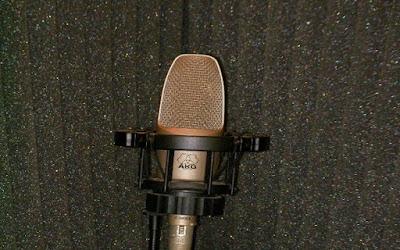 コンデンサーマイク 吸音材とc3000b