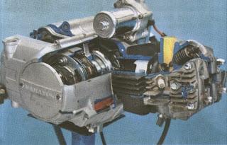 Cara belah mesin honda bebek c100 series.