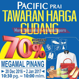 PACIFIC Warehouse Sale 2016 2017