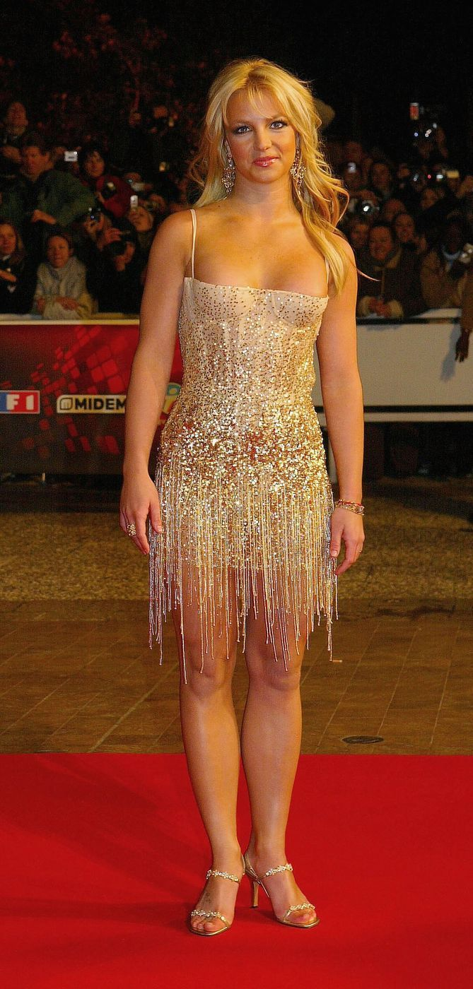 Britney Spears Nrj Music Awards in Cannes January 24, 2004