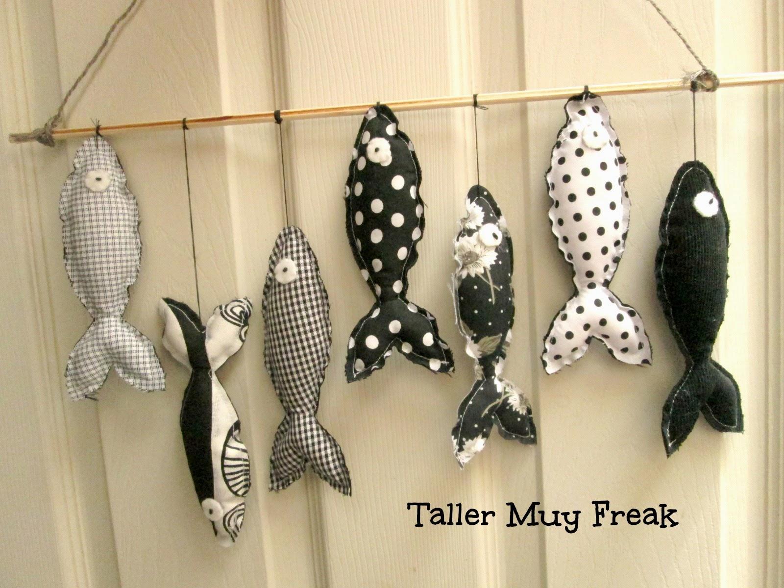 peces en negro