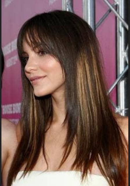 Model Rambut Segi Panjang Lurus