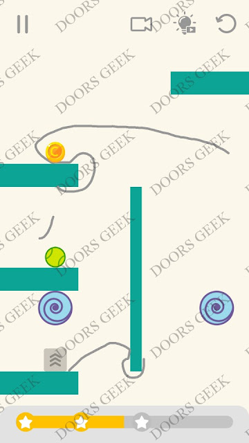 Draw Lines Level 166 Solution, Cheats, Walkthrough 3 Stars for Android and iOS